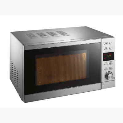 ASDA 800W 20 Litre Stainless Steel Digital Microwave