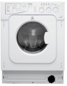 Indesit IWDE126 6kg 1200 Spin Integrated Washer Dryer