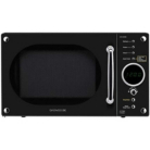 Daewoo KOR6N9RB Retro 20L Digital Microwave - Gloss Black