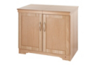 Hostess 6244NO Heated Trolley - Natural Oak