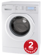 Russell Hobbs RH1261TW 9kg Twin Jets 1200 Spin Speed Washing Machine