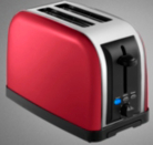 ASDA 2 Slice Toaster - Red