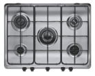 Indesit PIM 750 AST (IX) Stainless Steel Hob - Gas