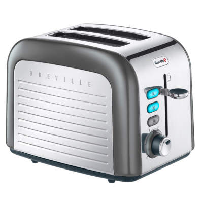 VTT412 2 Slice Toaster - Moonstone,
