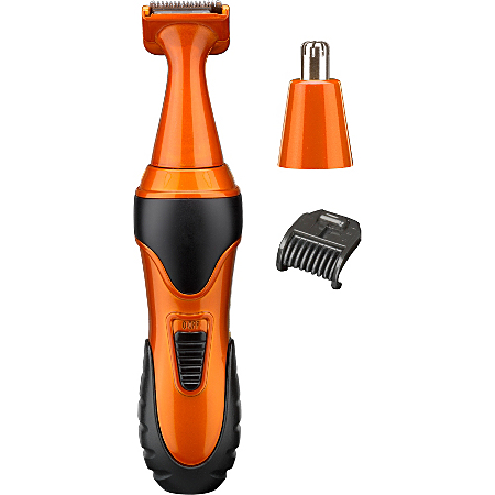 babyliss for men 7180bu mini trim orange clippers trimmers and shavers asda direct. Black Bedroom Furniture Sets. Home Design Ideas