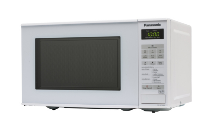 Panasonic NN-E271WMBPQ 20L 800W Microwave Oven - White | Microwaves ...
