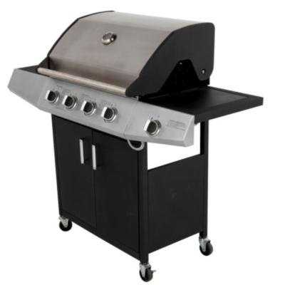 4 Burner and Side Burner Gas BBQ