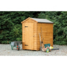 Larchlap Overlap Garden Shed (No Window) 6 x 4ft