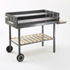 Grill Chef Large Party Charcoal BBQ - Cooking area 97cm x 27cm
