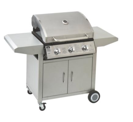 Grill Chef 3 Burner and Roast Hood BBQ