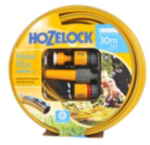 Hozelock Maxiplus 30m Hose and 4 Piece Accessory Set