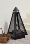 ASDA 100cm Pyramid Log Burner alternative view