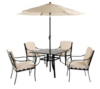 Haversham 6 Piece Patio Set main view