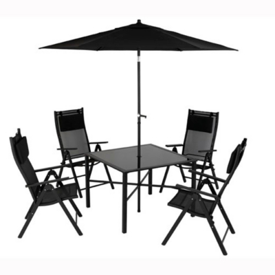 Patio Table Metal on Asda Direct   Bondi Patio Set   6 Piece Customer Reviews   Product