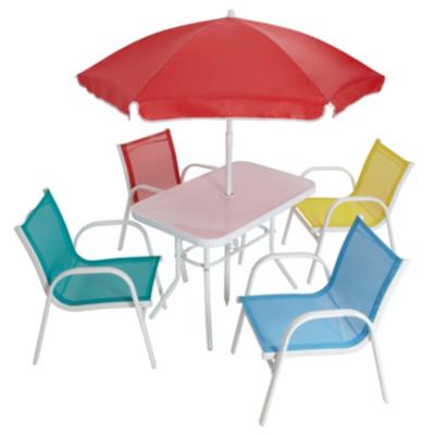 ASDA Children 39 S Patio Set 6 Piece Garden Furniture ASDA Direct