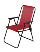 ASDA Picnic Chair- Red