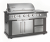 Landmann Avalon 7 Burner Gas BBQ with Cabinet and Rotisserie main view