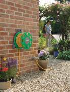 Hozelock Wall Mounted 15m Hose Reel Set