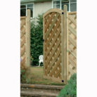 Dome Garden Gate - 6 x 3ft