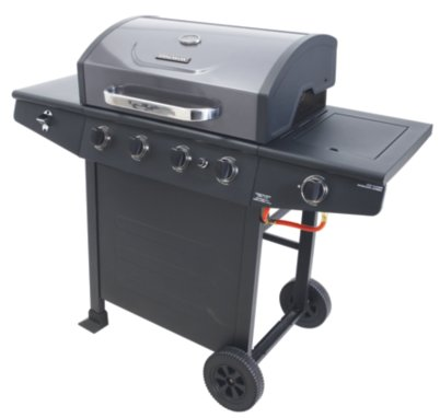 Brinkmann 4 Burner & Side Burner Gas BBQ