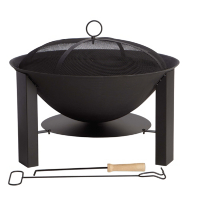 ASDA 60cm Cast Iron Firebowl Log Burner