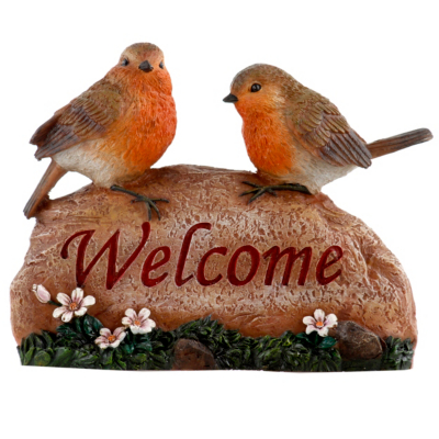 Birds Welcome Garden Ornament