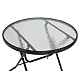 Miami Folding Patio Table 80cm View All Outdoor Asda