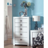 Monaco White Gloss Chest of Drawers main view
