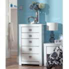 Monaco White Gloss Chest of Drawers