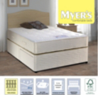 Myers Twin Spring Ortho Single Divan - Various Storage Options
