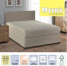 Myers Twin Spring Memory Supreme Double Divan - Various Storage Options