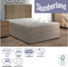 Slumberland Ortho Double Divan - Various Storage Options