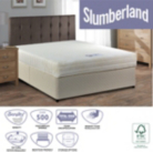 Slumberland Memory Small Double Divan - Various Storage Options