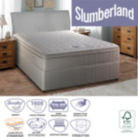 Slumberland Mini Pocket Single Divan With Memory - Storage Option