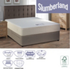 Slumberland 800 Pocket Single Divan - Storage Option