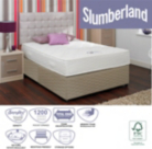 Slumberland 1200 Pocket King Divan - Various Storage Options