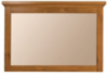 Lyon Wall Mirror - Antique Golden Oak main view