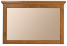 Lyon Wall Mirror - Antique Golden Oak