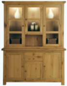 Manor Large Display - Natural Oak