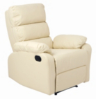 Unico Click Action Recliner - Cream