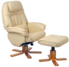 Alicante Recliners in Cream