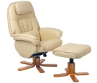 Alicante Swivel Recliner a9b Cream