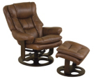 Almeria Recliners in Brown