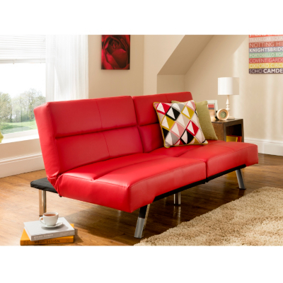 Click Clack Sofa Large Faux Leather Click Clack Sofa Ebay