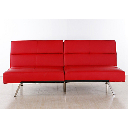 tenby click clack sofabed in red sofas armchairs