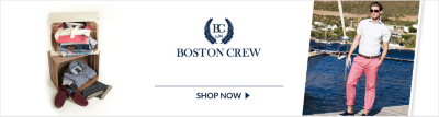 Boston Crew - New Collection