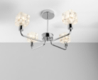 ASDA Cube Shades Ceiling Light Fitting - 4 Arms