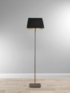 ASDA Voile Floor Lamp - Rectangular - Black main view