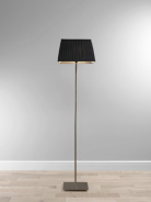 ASDA Voile Floor Lamp - Rectangular - Black