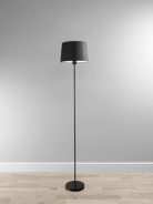 ASDA Powder Coated Floor Lamp with Black Shade